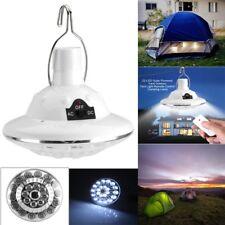 Portable Solaire  22 LED Lampe Éclairage de Secours Tente Voyages Camping  FR