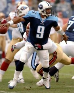 STEVE McNAIR 8X10 PHOTO TENNESSEE TITANS PICTURE NFL FOOTBALL VS NINERS
