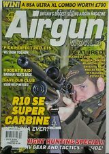 Airgun World UK Dec 2016 R10 SE Super Carbine Night Hunting FREE SHIPPING sb