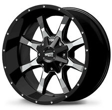 "4-NEW Moto Metal MO970 17x8 6x135/6x5.5"" +0mm Black Wheels Rims"