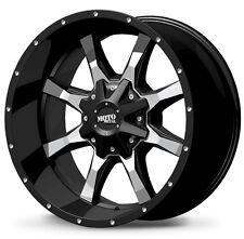 4-NEW Moto Metal MO970 17x8 6x135/6x139.7 +0mm Black Wheels Rims