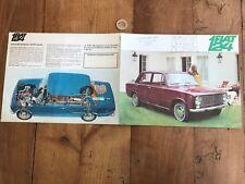 catalogue brochure de voiture numéro 11 fiat 124