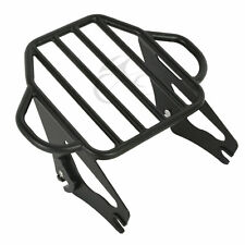 Detachable 2-Up Luggage Rack For Harley Touring Road King Street Glide 09-18 17