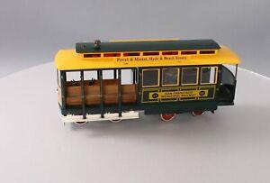 McCoy Standard Gauge TCA San Francisco Municipal Railway Trolley EX
