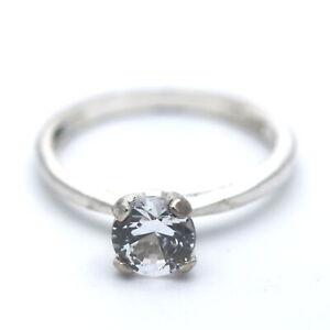 Solitär Ring 925 Sterling Silber mit Zirkonia Echtschmuck Wert 60,-