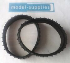 Moko Caterpiller large issue reproduction pair of black rubber tracks