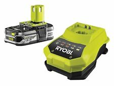 Ryobi RBC18L15 ONE+ 1.5 Ah Lithium Plus Battery and One Hour Charger, 18V NEW