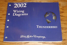 Original 2002 Ford Thunderbird Wiring Diagrams Manual 02