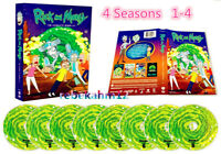 Rick and Morty Complete Series Season 1-4 (DVD, 8-Disc Set) New Sealed US seller