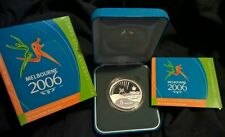 2006 FIVE DOLLAR SILVER PROOF - *QUEENS BATON RELAY* *COMMONWEALTH GAMES*