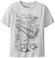 Kids Minecraft T-shirt TNT BLUEPRINT Kids Age 5-6 Years Gaming Gamers Tee Shirt
