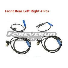 ABS Wheel Speed Sensor 4 Pcs Front Rear Left Right For BMW 320i 323ci 323i 325Ci