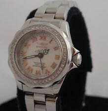 Ladies Invicta Swiss Movement Professional  Watch Water Resistant Sapphire #4190