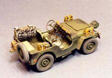 "Resicast 1/35 British Airborne Jeep ""Signals"" Conversion Set (for Tamiya) 351156"