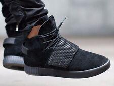 Adidas Originals Tubular Invader Strap Triple Black BB1169 Men's Size 11