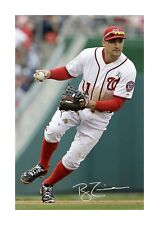 More details for ryan zimmerman 2 washington nationals a4 signed poster choice of frame