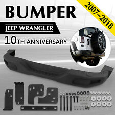 Rear Bumper For 07-18 Jeep JK Wrangler Rubicon 10th Anniversary Style