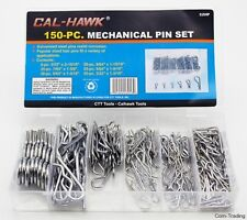 CTT 150-PC Assorted Mechanical Pins R Clips Cotter Pin...