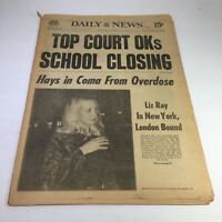 NY Daily News: 6/11/76 Hays in Coma From Overdose; Liz Ray In NY London Bound