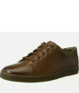 Clarks Stanway Lace Men's Tan Leather Sneakers Shoes UK Size 10 G EUR 44.5