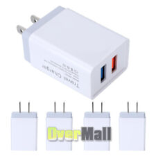 Lots MIni Quick Charge 2Port USB 2.4A Phone Travel Fast Charger Adapter US plug
