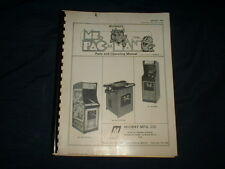 MS. PAC MN-Bally/Midway Orig. Manual-L@@K!