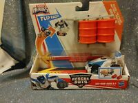 Hasbro Playskool Transformers Rescue Bots Flip Racers Pullback Quickshadow New