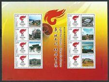 China 2008 Beijing Olympic Special Full S/S Torch Relay Chongqing 重庆 奥運
