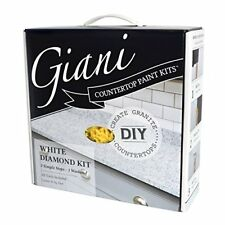 NEW Giani Granite White Diamond Paint Kit for Countertops FREE SHIPPING