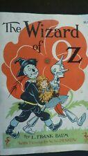 "Vintage Copyright 1956 ""The Wizard of Oz"" By L. Frank Baum - Paperback"