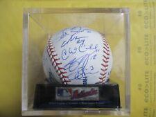 2006 TULSA DRILLERS TEAM SIGNED AUTOGRAPHED BASEBALL 27 SIGNATURES RAWLINGS MLB