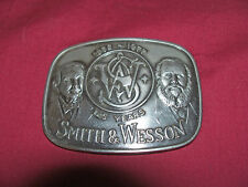 Old 1977 S&W Smith and Wesson 125 Year Anniversary Belt Buckle Collector Vintage