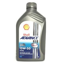 1 Liter Shell Advance ULTRA 4T 15W-50