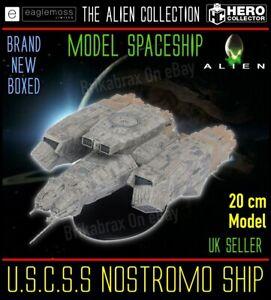 Eaglemoss Alien Collection: U.S.C.S.S Nostromo Ship 20cm Model - Brand New Boxed