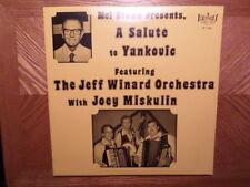 SEALED BRIGHT LP RECORD/MEL BROWN PRESENTS SALUTE YANKOVIC/JEFF WINARD/MISKULIN