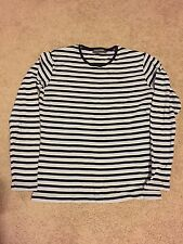 Duchamp Ladies Knit Long Sleeve Striped Top Size 10