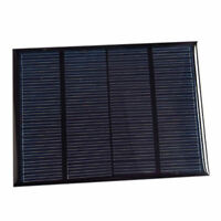 Solar Panel Module For Battery Cell Phone Charger DIY Model:115X85mm 12V 1. W2N6