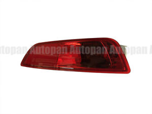 LH Light Rear Bumper Lamp Reflector Driver Red Lens For VOLVO XC60 2009-2012