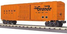 MTH 30-74837 RailKing O Gauge, 50' Modern Box Car - Denver Rio Grande