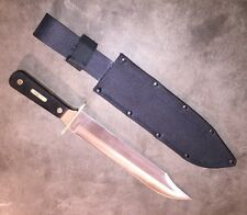 """Schrade Old Timer Hunting Knife, 10"""" Blade, Brand New in Sheath!"""