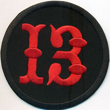 Lucky 13, 8 Ball Vintage Motorcycle Biker Jacket Vest Iron on Patch Badge