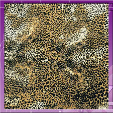 100% RAYON CREPE ANIMAL PRINT 58 INCHES WIDE FABRIC SOLD BY THE YARD
