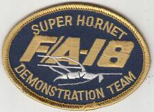 VFA-106 DEMO TEAM SUPER HORNET OVAL SHOULDER PATCH