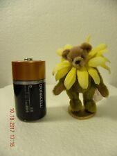 """Sunflower Blossom"" minikin bear........incredible 2 5/8 inches tall"