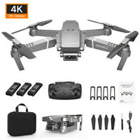 Drone E68 2.4G Selfie WIFI FPV With 4K HD Camera Foldable RC Quadcopter RTF