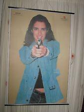 ORIGINAL VINTAGE USA POLICE COLOURED SHOOTING TARGET FEMALE POSTER PRINT ART 2