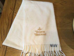 New Genuine Vivienne Westwood Lana Wool Scarf