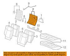 GM OEM Rear Seat-Seat Back Panel Left 22736545