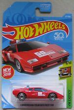 Hot Wheels HW Exotics LAMBORGHINI COUNTACH PACE CAR 9/10 red