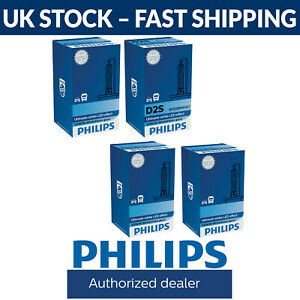 Philips Xenon WhiteVision Gen2 HID Car Headlight Bulbs D1S D2R D2S D3S